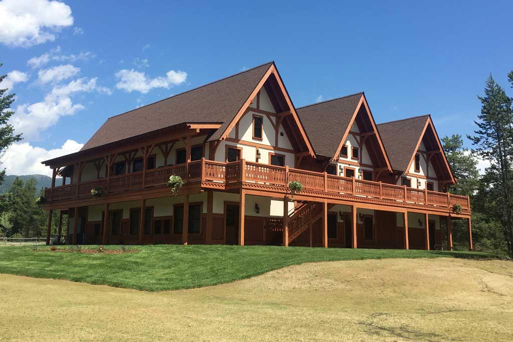 Great Northern Resort lodge.